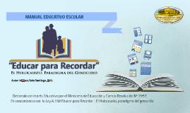 Manual Educativo Paraguay