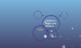 Children's Rights and Business