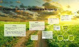 Citations: Words and Ideas are Property (King)