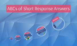 Copy of ABCs of Short Response Answers