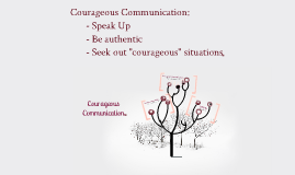 Courageous Communication