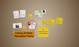 Literary Criticism: Philosophical Theory