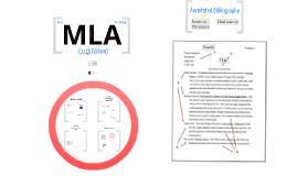 Basic MLA Formatting