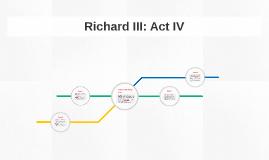 Richard III: Act IV Summary