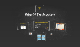 Copy of Voice Of The Associate