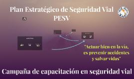 Inducción Plan Estratégico Seguridad Vial - PESV