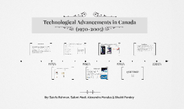 Technological Advancements in Canada