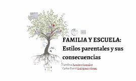 FAMILIA Y ESCUELA: