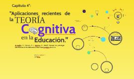 Aplicaciones recientes de la Teoría Cognitiva en la Educació