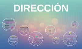 Copy of DIRECCIÓN