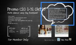 Promo C10 oriflame