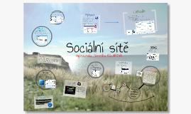 Copy of Sociální Sítě