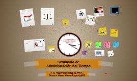 Seminario Administración del Tiempo