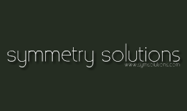 Symmetry Solutions Solidworks