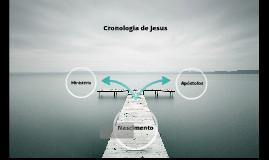 Cronologia de Jesus