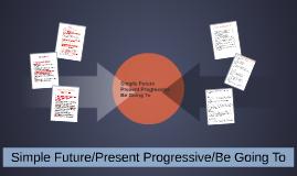 Simple Future/Present Progressive/Be Going To