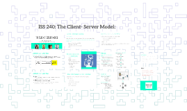 ISS 240: The Client- Server Model: