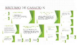 RECURSO DE CASACIÓN