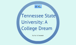 Tennessee State University: