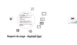 Rapport de stage - Raphaël Oger