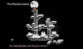 The Persian war(s)