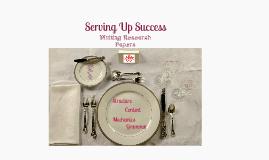 Copy of Serving Up Success