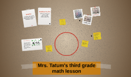 Copy of Mrs Tatum's third grade math lesson