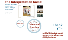 The Interpretation Game:
