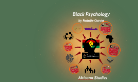 Black Psychology Africana Studies