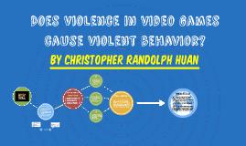 Does Violence in video games cause violent behavior?