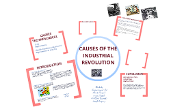 reasons behind the development of industrial revolution The industrial revolution created a new middle class made up of merchants, bankers, and other professional occupations who profited from new business ventures and the wealth created by them laissez-faire economics, the emerging economic system under the industrial revolution.