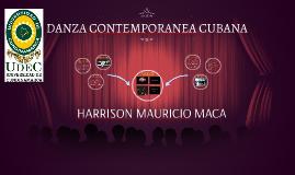 DANZA CONTEMPORANEA CUBANA