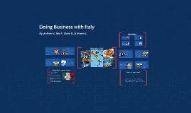 Doing Business with Italy