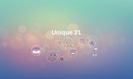 Unique 21 Marketing Action Plan