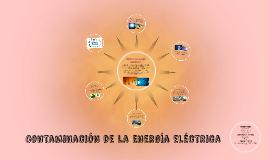 Contaminación de la Energía eléctrica