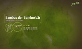 Bambus der Bambusbär