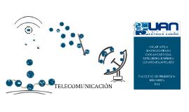 Copy of LAS TELECOMUNICACIONES