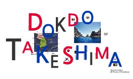 Dokdo vs. Takeshima