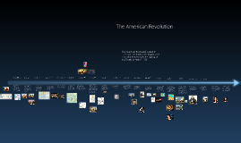 Copy of Timeline of the American Revolution