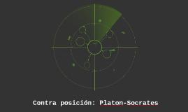 Contraposicion: Platon-Socrates