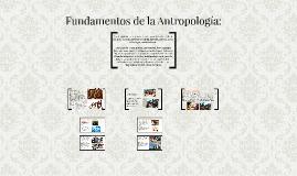 Fundamentos de la Antropología: