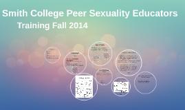 Peer Sexuality Educators Training!