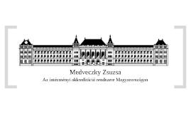Szakdolgozat védés - Medveczky Zsuzsa
