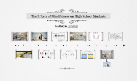 The Effects of Mindfulness on High School Students