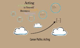 Career Paths: Acting