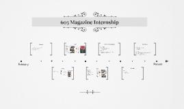 605 Magazine Internship