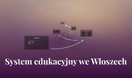 System edukacyjny we Włoszech