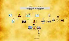 Copy of Primeros Gobiernos  Patrios