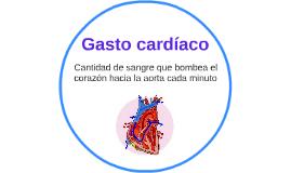 Gasto cardíaco
