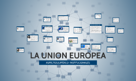 Copy of LA UNION EUROPEA Y SU PROCESO DE INTEGRACION